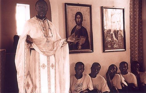 Православная проповедь в Уганде (Фото Никиты Машкина)